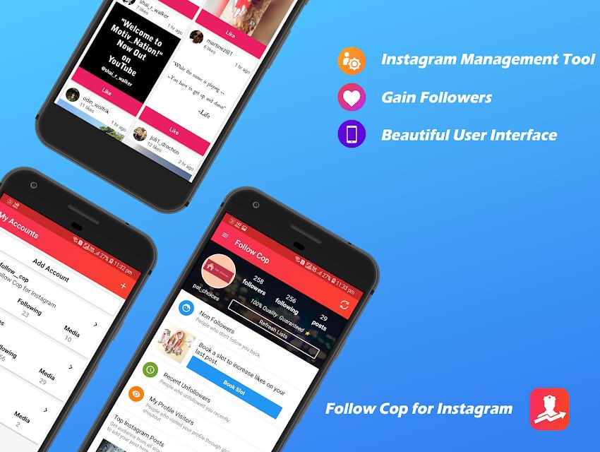Follow Cop For Instagram