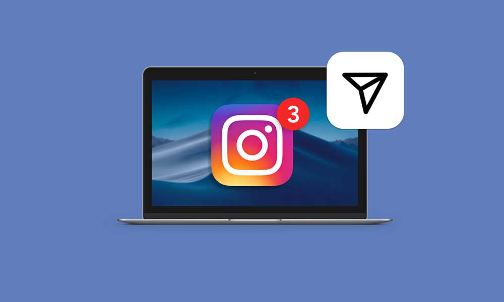 Instagram dm on pc