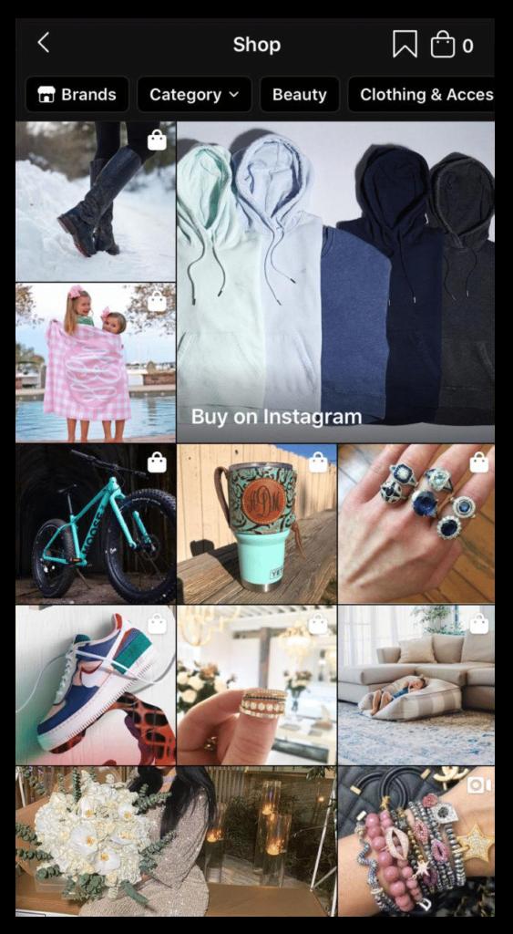 Instagram Shopping Stats