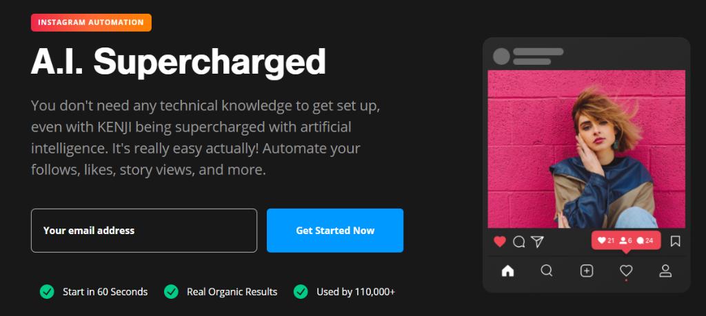 Kenji A.I. Supercharged