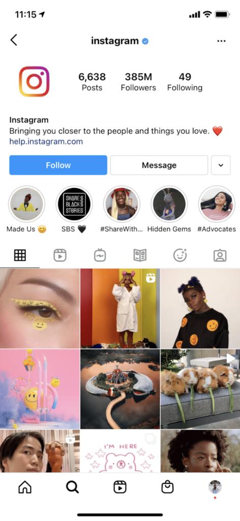 Most Followed Instagram Accounts