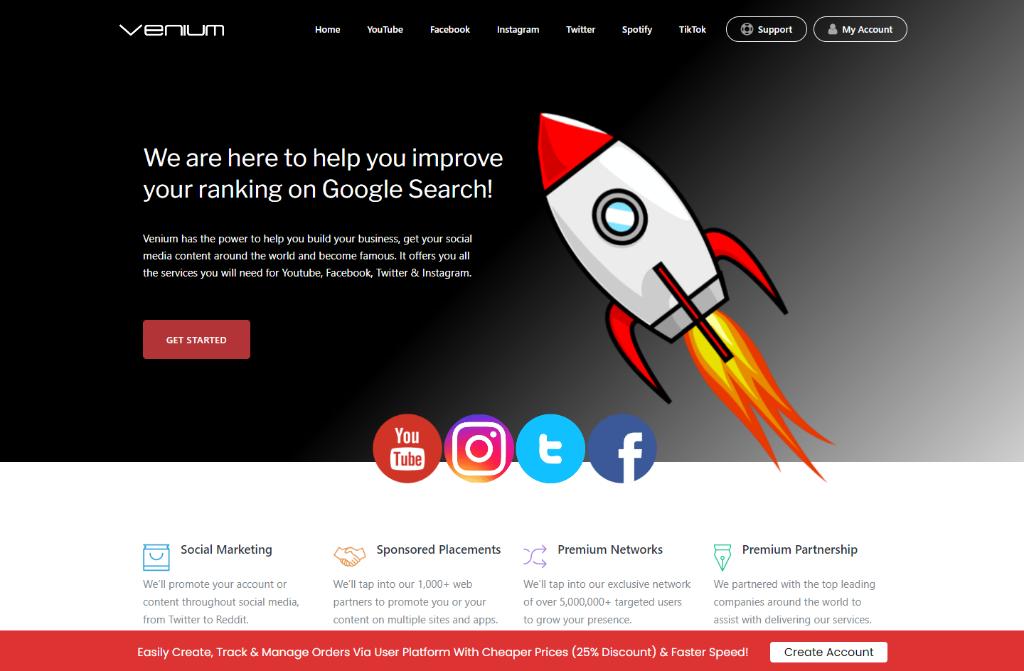 Venium Review: Does it Help You Grow Your Instagram Account?