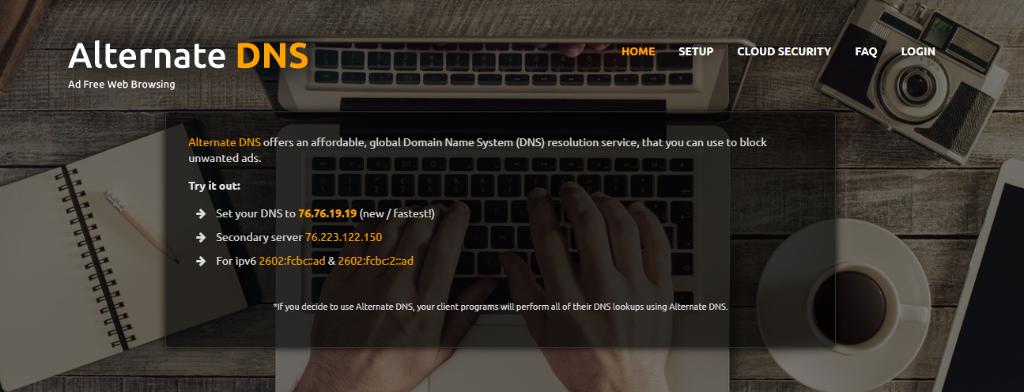 Alternate DNS