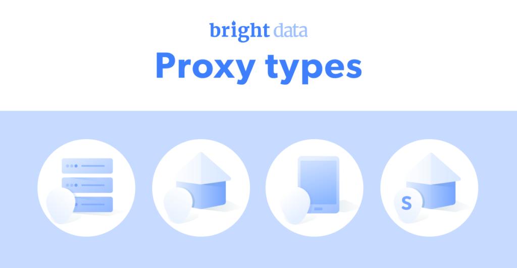 Bright Data Proxy-types