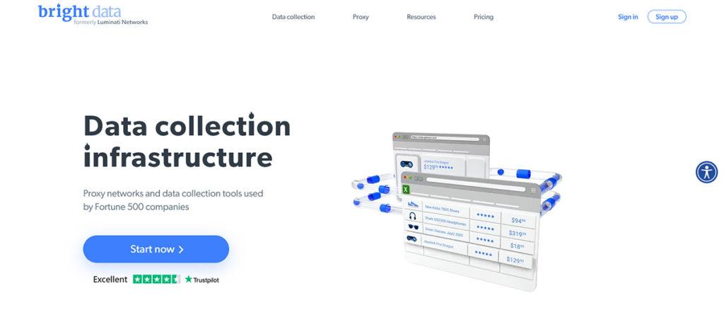Bright Data (formerly Luminati) indian proxy service
