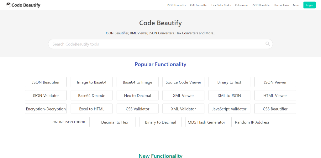 Codebeautify.org