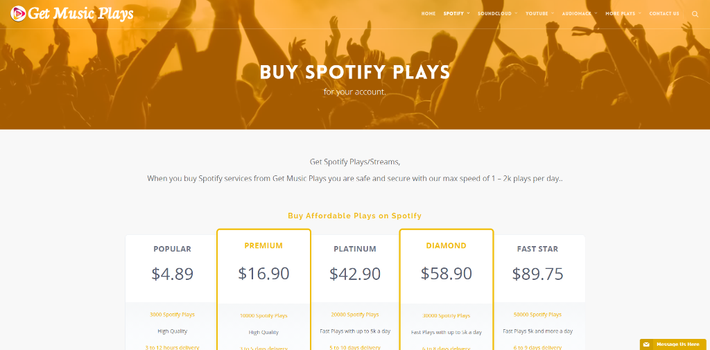 Get Music Plays