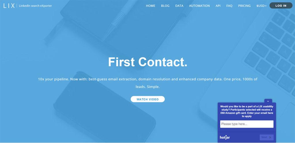 LIX – LinkedIn search eXporter