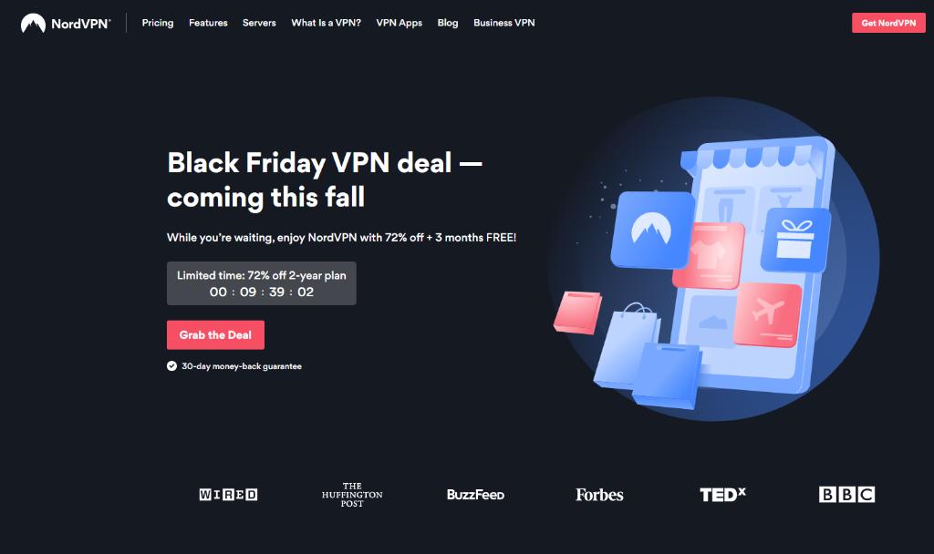 NordVPN Black Friday & Cyber Monday Deals