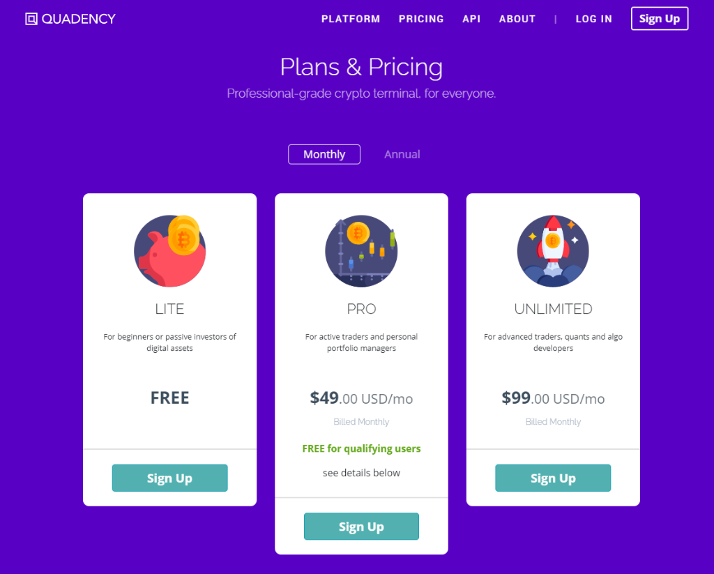 Quadency Pricing