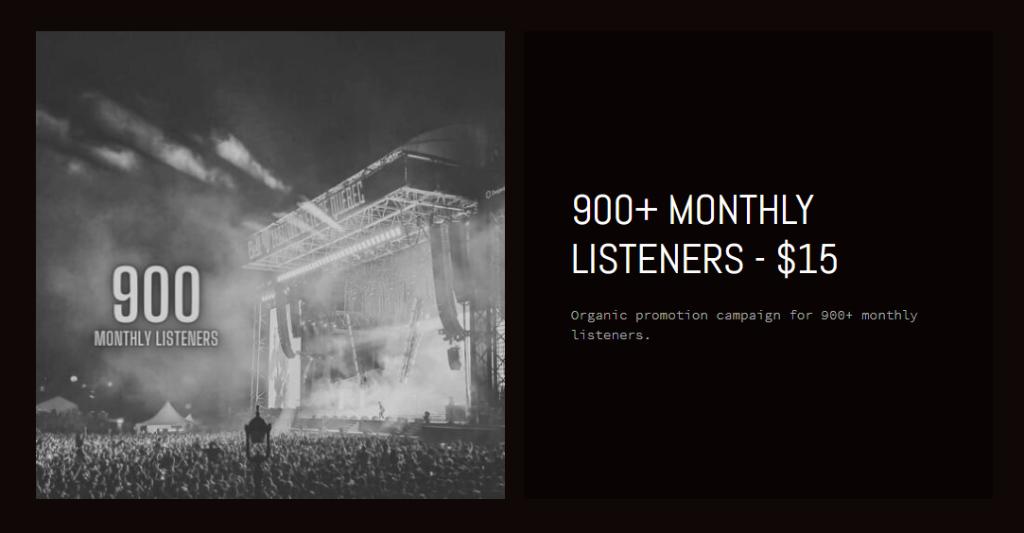 StreamBeet Monthly Listeners