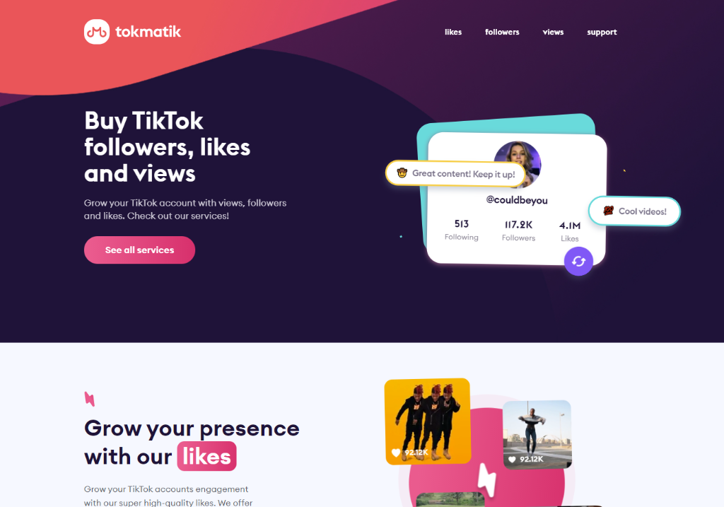 TokMatik Review – Real TikTik Growth? *REVEALED*