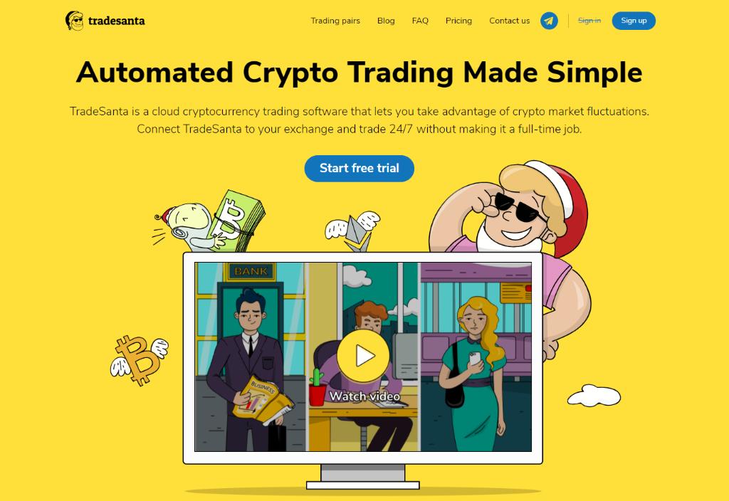 TradeSanta Review – A Bot Bearing Presents?