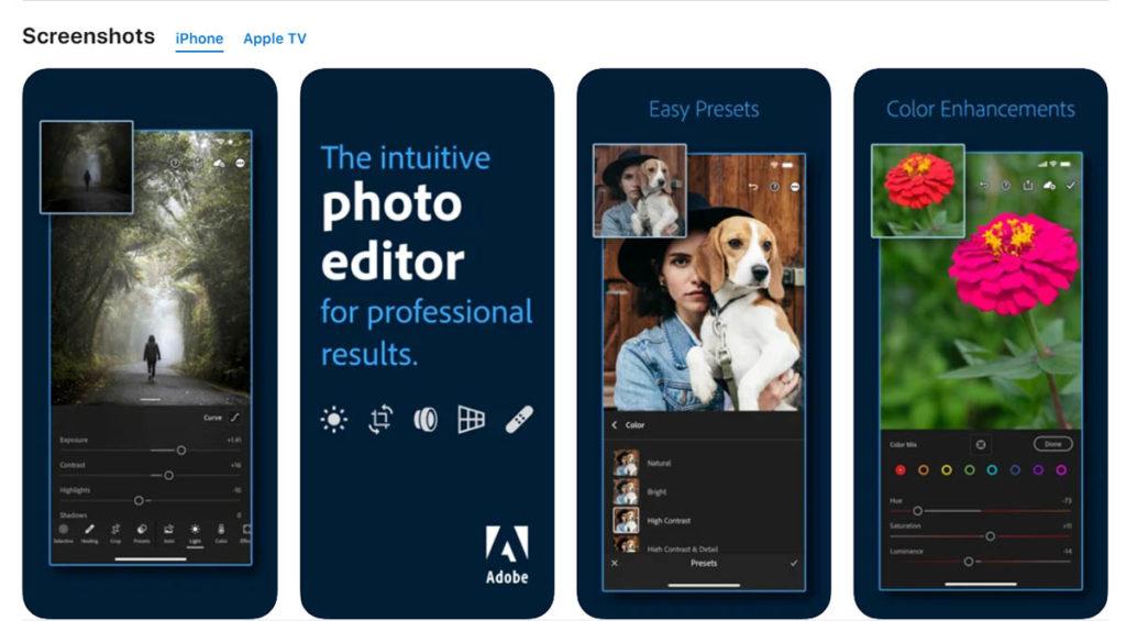 Adobe Lightroom_ Photo Editor on the AppStore -