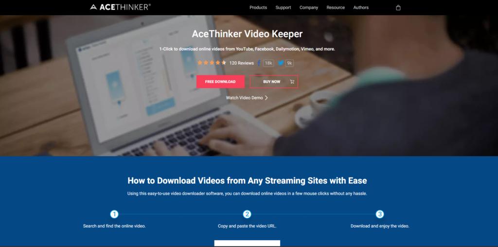 Acethinker video keeper 1