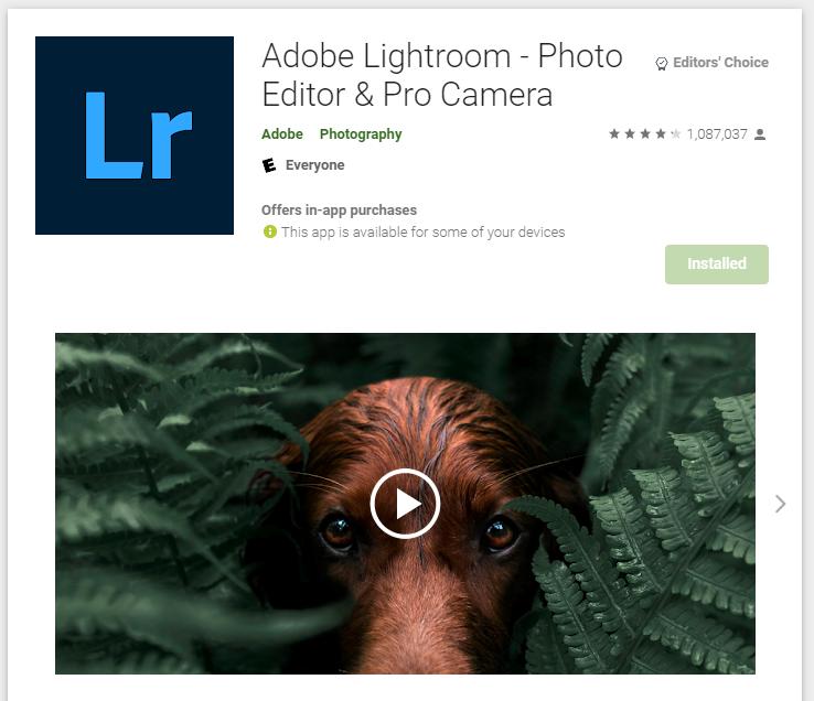 Adobe Lightroom: Professional Photo Editing Tools for Instagram