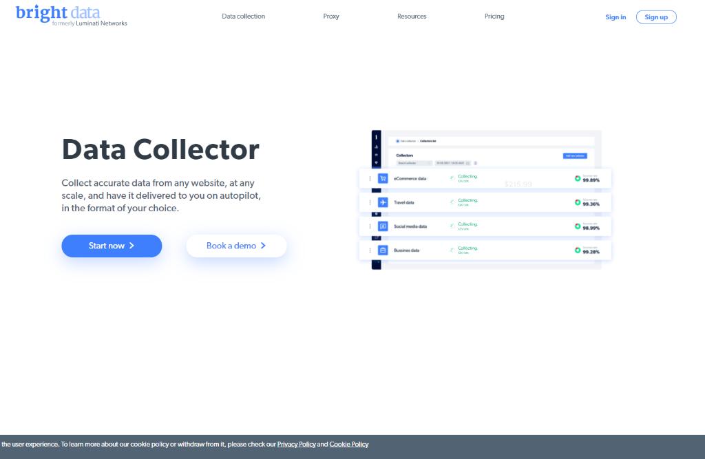 BrightData Data Collector