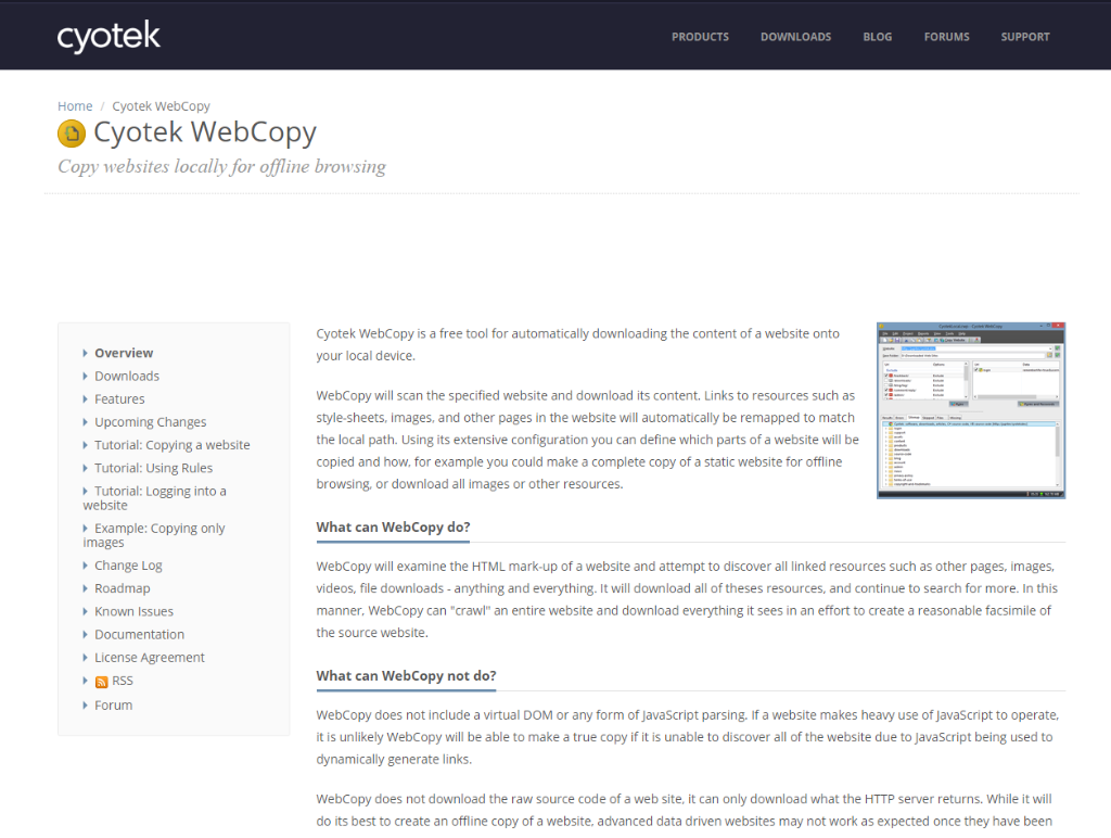 Cyotek WebCopy