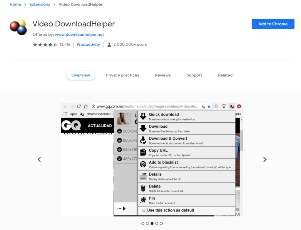 Download Helper (Chrome Extension)