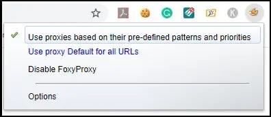 Foxyproxy