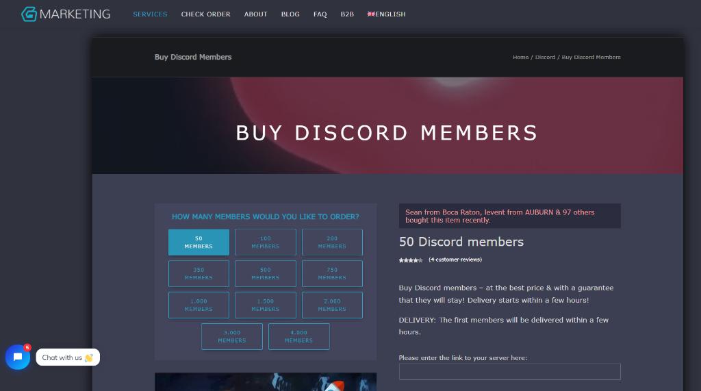 Galaxy Marketing Discord Members