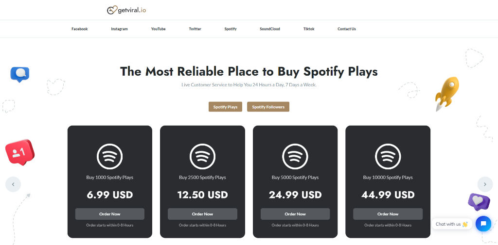Get Viral Spotify Plays