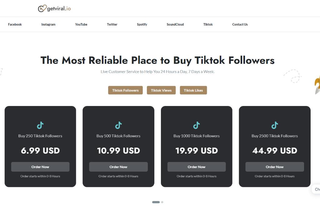 Getviral.io TikTok