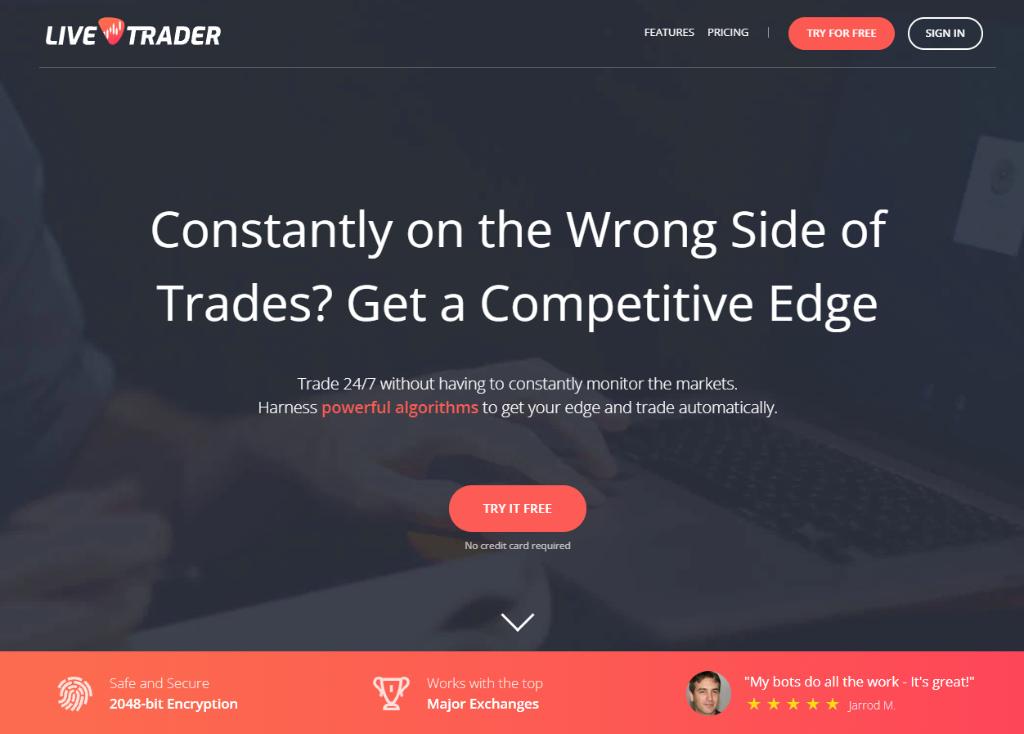 LiveTrader Review – Perhaps a Bit Too Simple?