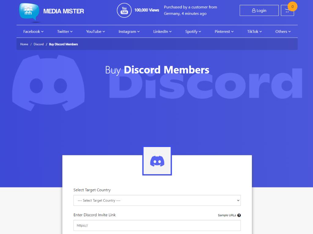 Media Mister Discord Members