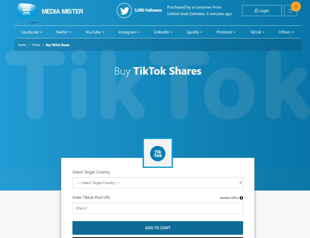Media Mister TikTok Shares