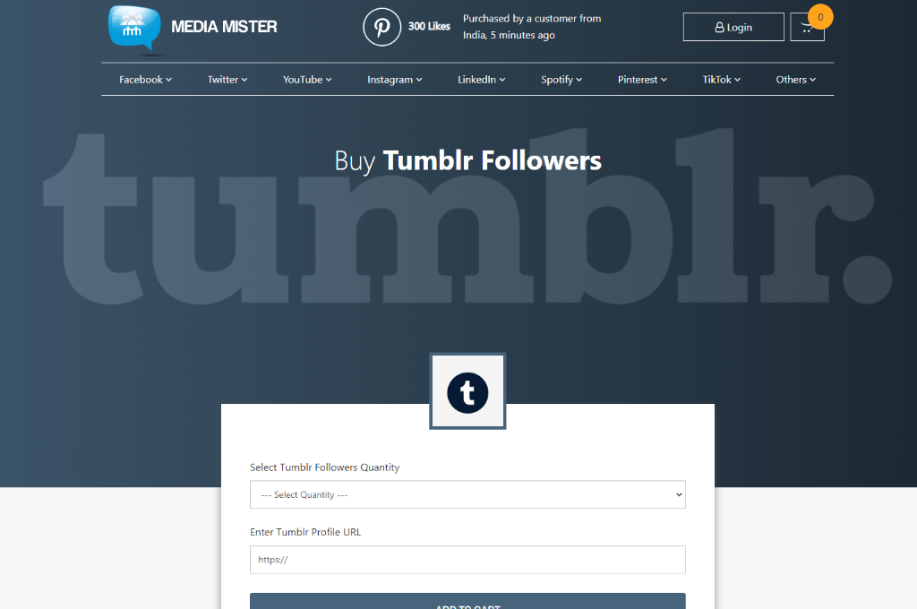 Media Mister Tumblr Followers