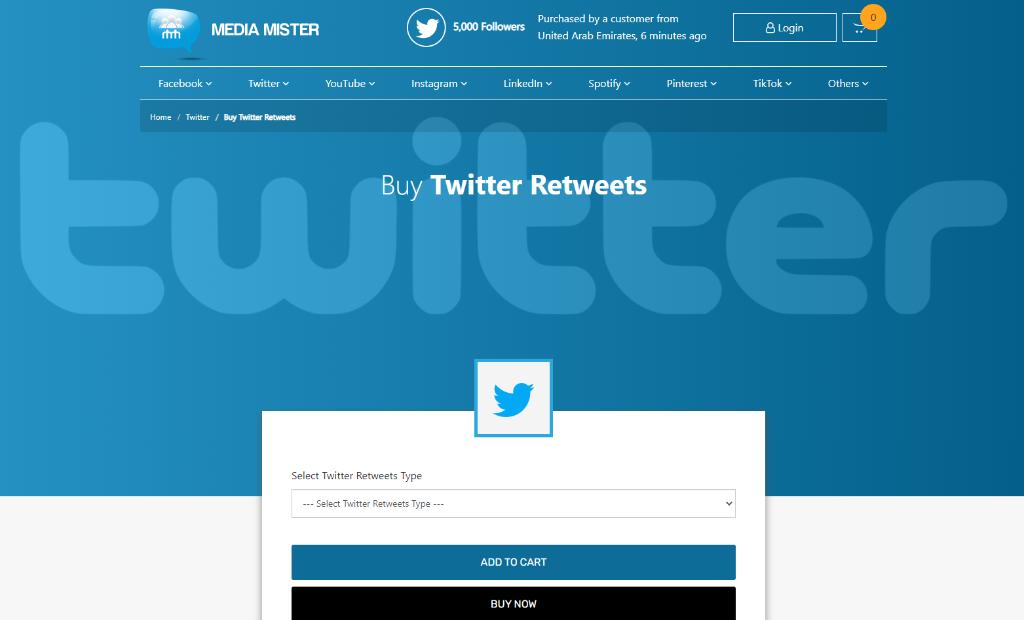 Media MisterTwitter Retweets