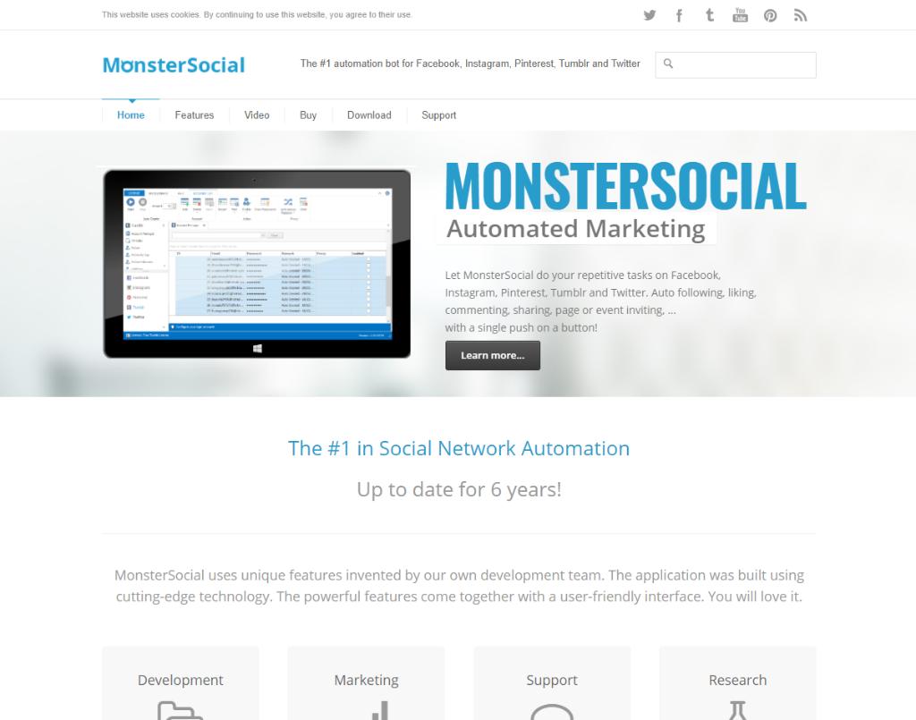 Monster Social