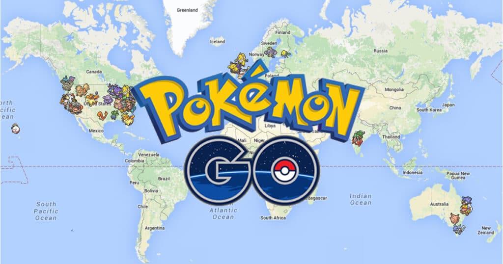 Pokemon Go Geolocation