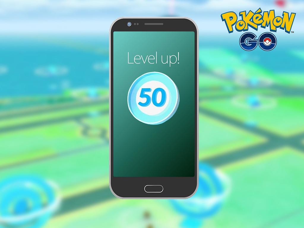 Pokemon Go Level Up!