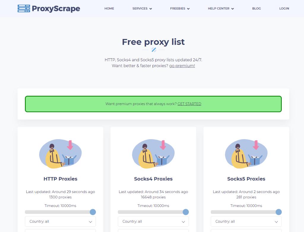 ProxyScrape