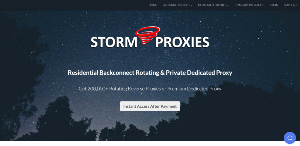 storm proxy