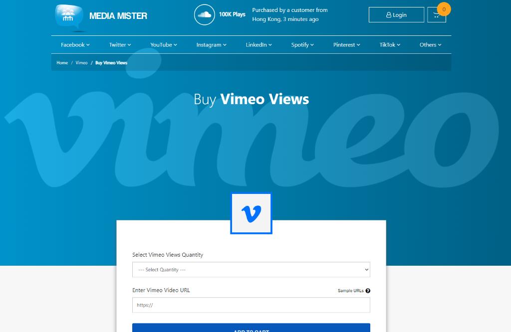 Media Mister Vimeo Views