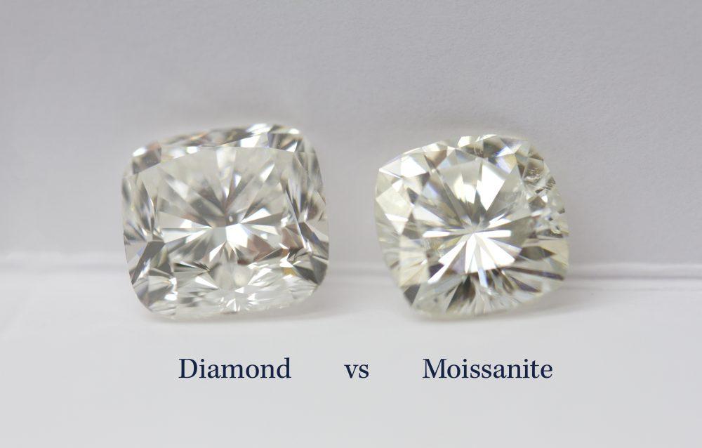 Moissanite vs. Diamond