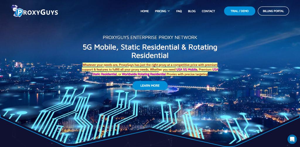 ProxyGuys Review – Do Their Proxies Work?