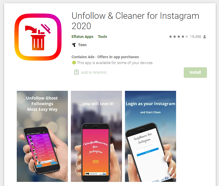 Unfollow & Cleaner for Instagram